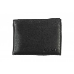8 Cards Bi-Fold Men's Leather Wallet with detachable I'd Card ( NME 639 )