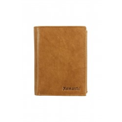 8 Cards Vertical Men's Business Leather Wallet (NME 1019)