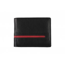 6 Cards Bi-Fold Men's Leather Wallet (NME TP-2)