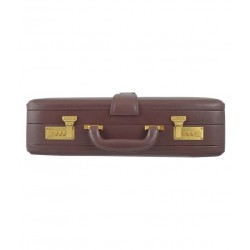 Mozart Formal Leather Briefcase